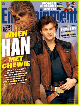 'Solo: A Star Wars Story' Highlighted for EW's New Issue!