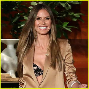 Heidi Klum Reacts to Criticism About Modeling in Her Forties - Watch Now!