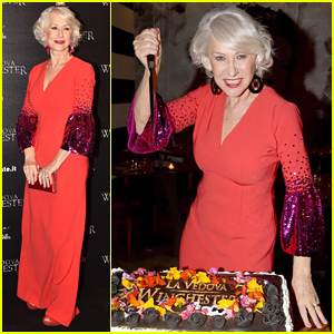 Helen Mirren Is Lady In Red at 'Winchester' Rome Premiere!