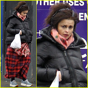 Helena Bonham Carter Steps Out After 'The Crown' Casting Announcement