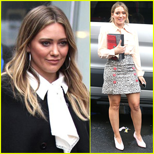 Hilary Duff Begins Filming 'Younger' Season Five in NYC!