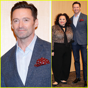 Hugh Jackman & Keala Settle Promote 'The Greatest Showman' in Tokyo