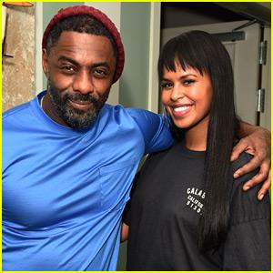 Idris Elba Celebrates 'Yardie' Directorial Debut with Fiancee Sabrina Dhowre!