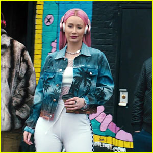 Iggy Azalea Sings 'Savior' In Monster Headphones Super Bowl Commercial - Watch Now!