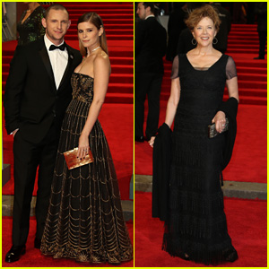 Jamie Bell & Kate Mara Couple Up for BAFTAs 2018!