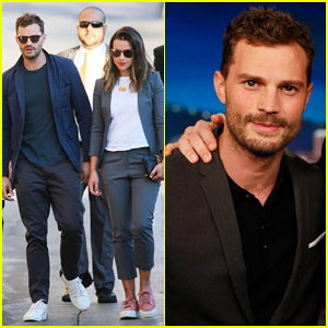 Jamie Dornan Says He Wears 'Quite A Big Wee-Bag' for Intimate 'Fifty Shades' Scenes with Dakota Johnson
