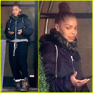 Janet Jackson Shops for Son Eissa at Boutique Baby Store