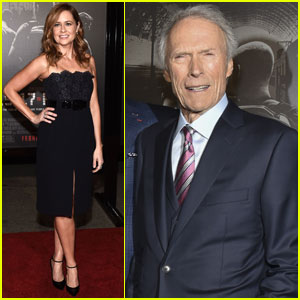 Jenna Fischer & Clint Eastwood Premiere '15:17 to Paris' With Real-Life Heroes!