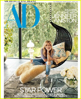 Jennifer Aniston Gives a Peek Into Her Los Angeles Home