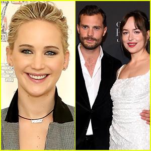 Jennifer Lawrence on Being a 'Fifty Shades' Fan: I Like What I Like!