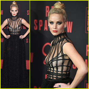 Jennifer Lawrence Stuns at 'Red Sparrow' NYC Premiere with Fierce Eye Makeup!