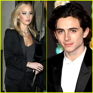 Jennifer Lawrence Thinks Timothee Chalamet is 'Hot,' Talks About Buttering Him Up