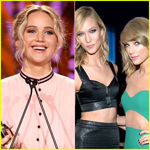 Jennifer Lawrence Wants a Status Update on Taylor Swift & Karlie Kloss' Friendship