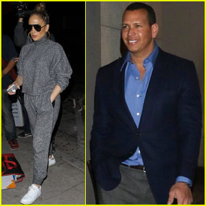Jennifer Lopez & Alex Rodriguez Meet Up For Dinner Date!