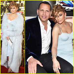 Jennifer Lopez Gets Support from Alex Rodriguez at Guess Spring 2018 Campaign Reveal!