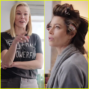 Jessica Biel & Chelsea Handler Talk About Sexual Education - Watch Now!