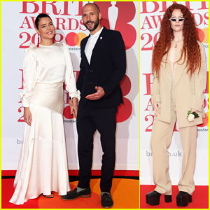 Jessie Ware & Hubby Sam Burrows Couple Up at BRIT Awards 2018!