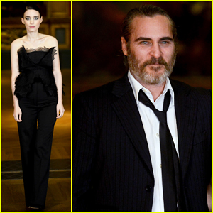 Joaquin Phoenix & Rooney Mara Couple Up at 'Mary Magdalene' Special UK Screening!