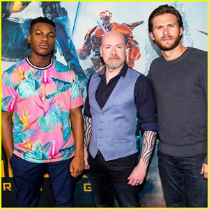 John Boyega & Scott Eastwood Team Up To Promote 'Pacific Rim Uprising' in Australia!