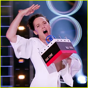 Johnny Weir Performs Celine Dion's 'My Heart Will Go On' on 'Lip Sync Battle' - Watch the Teaser!