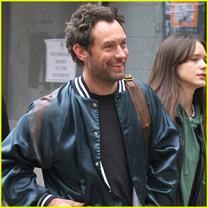 Jude Law Begins Filming 'Vox Lux' in NYC