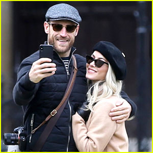Julianne Hough & Brooks Laich Go On Romantic Paris Vacation