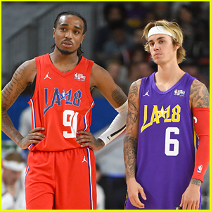 Justin Bieber Passes His NBA All-Star MVP Title to Quavo!