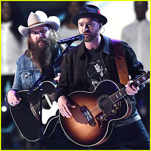 Justin Timberlake & Chris Stapleton Perform 'Say Something' at Brit Awards 2018