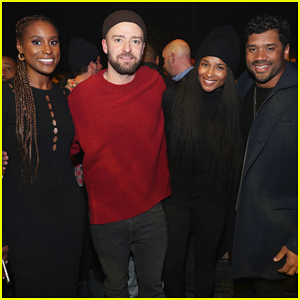 Justin Timberlake Gets Support from Ciara & Russell Wilson at 'Man of the Woods' Release Party!