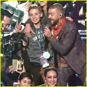 Justin Timberlake's Super Bowl Selfie Kid Shares His Photo!