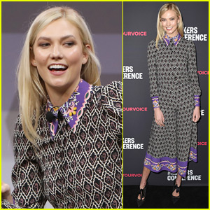 Karlie Kloss Speaks at Makers Conference 2018 in L.A.
