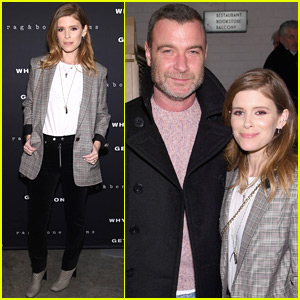 Kate Mara & Liev Schreiber Buddy Up at 'Why Can't We Get Along' Premiere