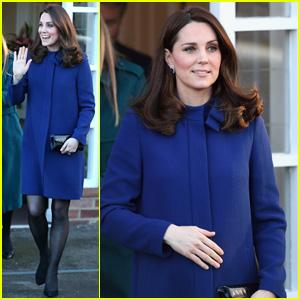 Pregnant Kate Middleton Opens Addiction Treatment Center