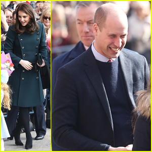 Kate Middleton & Prince William Step Out to Support the Arts in Sunderland!