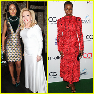 Kerry Washington, Danai Gurira & Elizabeth Banks Help Honor at Hollywood Beauty Awards 2018!