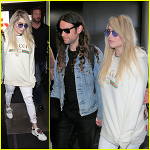 Kesha Steps Out With Boyfriend Brad Ashenfelter Before Postponing Tour Due to Upcoming Surgery
