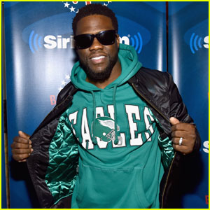 Kevin Hart Shows His Support For the Eagles Ahead of Super Bowl