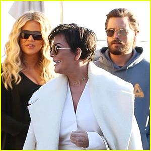 Khloe Kardashian Joins Scott Disick & Kris Jenner For Lunch!