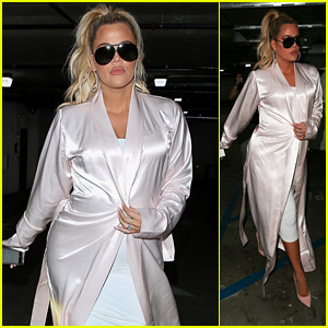 Pregnant Khloe Kardashian Heads Out to Grab Lunch With Sister Kim Kardashian!