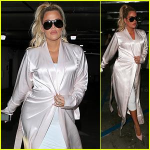 Pregnant Khloe Kardashian Heads Out to Grab Lunch With Sister Kim Kardashian!