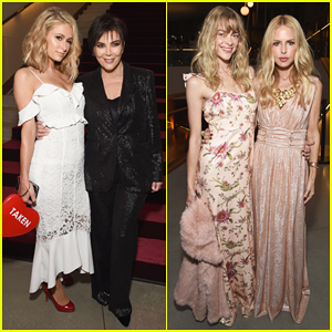 Kris Jenner & Paris Hilton Buddy Up To Celebrate Rachel Zoe's Fall 2018 Presentation!