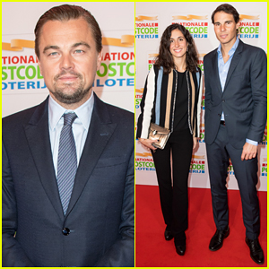 Leonardo DiCaprio Suits Up for Good Money Gala with Rafael Nadal & Girlfriend Xisca Perello!