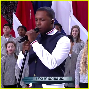 Leslie Odom Jr. Sings 'America The Beautiful' at Super Bowl 2018 - Watch Now!