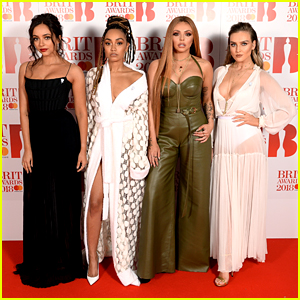 Little Mix Hit Red Carpet For BRIT Awards 2018