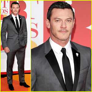 Luke Evans Suits Up To Present at Brit Awards 2018!