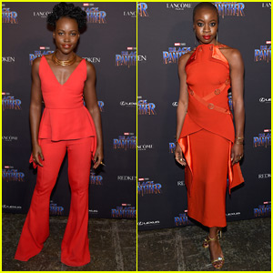 Lupita Nyong'o & Danai Gurira are Red Hot at 'Black Panther' NYFW Event!