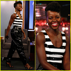 Lupita Nyong'o Tells 'Jimmy Kimmel' She's Losing Friends Over 'Black Panther' Tickets!