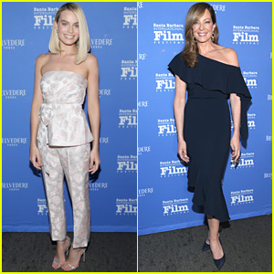 Margot Robbie & Allison Janney Celebrate 'I, Tonya' at Santa Barbara Film Festival
