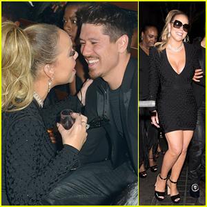 Mariah Carey & Boyfriend Bryan Tanaka Party Together at Floyd Mayweather's Birthday!
