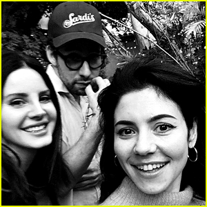 Lana Del Rey, Jack Antonoff & Marina Diamandis Are Hanging Out Together!